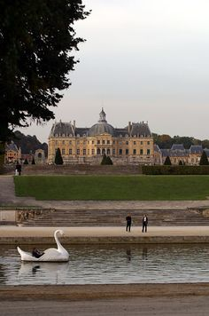 Greater Paris, Vaux le Vicomte Castle, Maincy