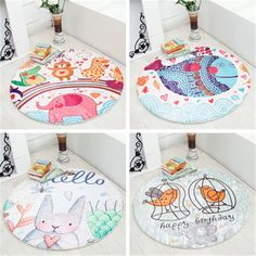 Activity & Gear Cartoon Fox Cotton Baby Kids Gym Play Mat Crawling Blanket Portable Round Carpet Children Toys Playmat Storage Bag 150cm