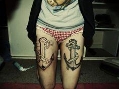 Anchor legs