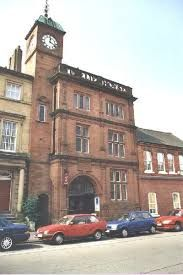 Old Tullie House, Carlisle, England is a Jacobean Mansion and the main front of the mansion still survives however and is visible from the adjacent street Abbey Street. In 1893 it contained a Museum, Library, Art and Technical School. The Schools moved out and in 1986 leaving only the Museum. Inside the Museum is a large collection of Roman arfacts related to the nearby Hadrian's Wall which covers coast to coast, from Cumbria to Northumberland. Carlisle England, Hadrian's Wall, Technical Schools, Library Art, Kingdom Of Great Britain, Jacobean, Moving Out, Cumbria, Northern Ireland