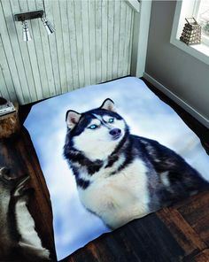 Husky Animals Print Throws – Linen and Bedding Plaid Bedding, Grey Bedding, Linen Bedding, Bed Linens, Custom Bedding, Fitted Bed Sheets, Linen Sheets, Bed Covers, Duvet Cover Sets