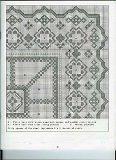 hardanger pattern # 32-2