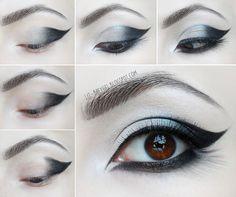 Beauty Angel: Goth Eye Makeup Tutorial
