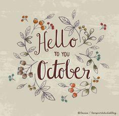 love print studio blog: Hello October...