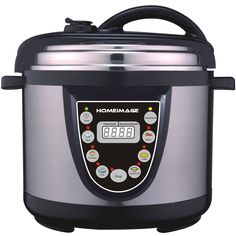 Amazon.com: HOMEIMAGE 6 Quarts Stainless Steel Multi-purpose Electric Pressure Cooker: Kitchen & Dining