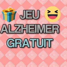 Vous cherchez un jeu Alzheimer gratuit à proposer à votre proche ? Je vous propose un jeu de société amusant et intéressant pour votre proche à imprimer !