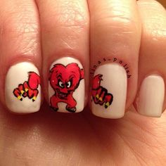 Bugs Bunny 'Monster' Nails