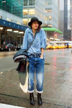 92 Best Denim Bancho images   Woman fashion, Clothing, Denim jeans a4db0b212f8