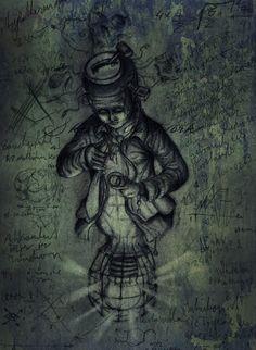 #drawing #painting #pencil #work #skullpellartwork.com #skullpell #artwork #illustration #dark #darkart #art #stevebauer #leipzig