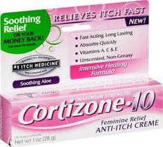cortizone 10 feminine itch