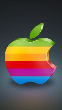 D Color Apple Iphone Wallpapers Free Hd For IPhone 4