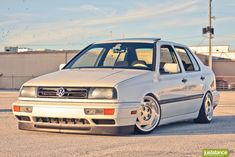 VW Jetta on 1988 Corvette 16x8.5 Wheels