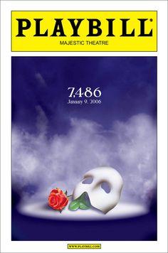Broadway - Record-Breaking Playbill