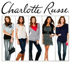 Charlotte Russe is a unique and fun clothing shop located in the Las Cruces mall. They offer a 10% off discount off of full price items with a student ID. Charlotte Russe offers fashionable womens clothing. They sell blouses, pants, shorts, shoes, accesories, and sleep clothes.