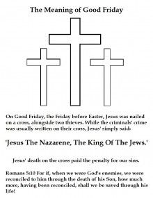 Activity Page for Good Friday