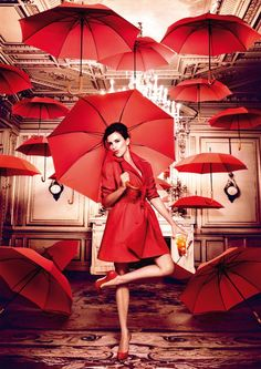 Kiss superstition Goodbye | Campari Corporate Penelope Cruz for Campari calendar 2013