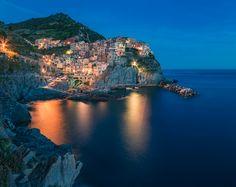 Manarola, Cinque Terre, Liguria, Panorama, Italy, 2014