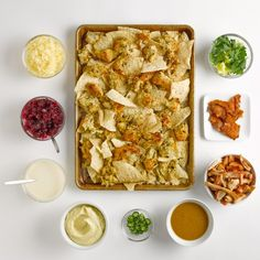 Thanksgiving Leftover Leftovers Nachos