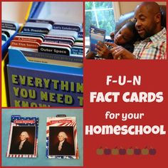 Introducing Fact Cards for your Homeschool :: plus a giveaway!