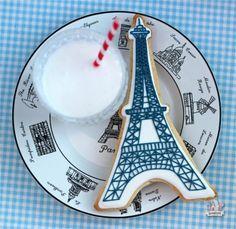 Eiffel Tower / Paris Cookie