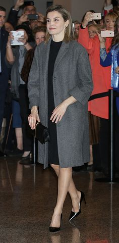 "Queen Letizia of Spain attends ""In Memorian"" concert at the National Auditorium on March 10, 2016 in Madrid, Spain."