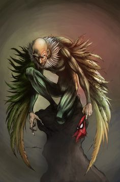 Vulture #Spiderman #Marvel #comic . For more images follow pyra2elcapo