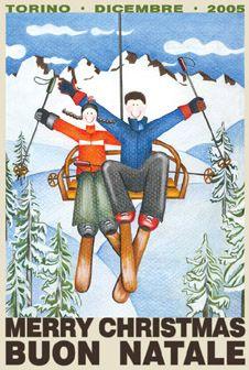 ski christmas cards - Google Search