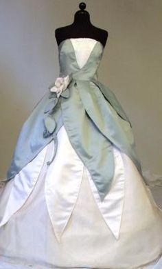 Tiana wedding on pinterest disney princess tiana the for Princess tiana wedding dress