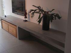 tv meubel met beton - Google zoeken