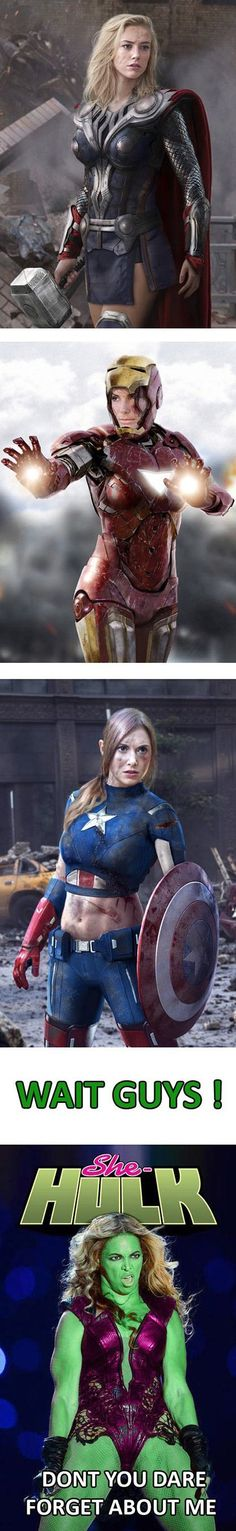 Funny - Girls as superheroes - www.funny-pictures-blog.com