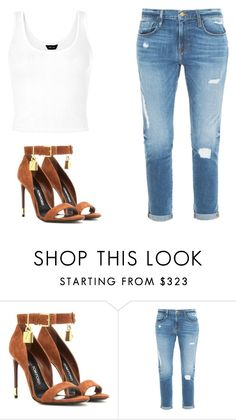 """#"" by paolala3810 ❤ liked on Polyvore featuring Tom Ford and Frame Denim"
