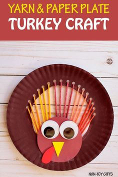 Thanksgiving Story for Kindergarten Best Of Yarn and Paper Plate Turkey Crafts for Kids to Make for Thanksgiving - AIAS Thanksgiving Stories, Thanksgiving Preschool, Thanksgiving Crafts For Kids, Crafts For Kids To Make, Holiday Crafts, Kids Crafts, Thanksgiving Turkey, Harvest Crafts For Kids, Easy Crafts