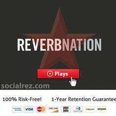Buy ReverbNation Plays #buy #reverbnation #plays #fans #promotion #music https://www.socialrez.com/product/buy-reverbnation-plays/