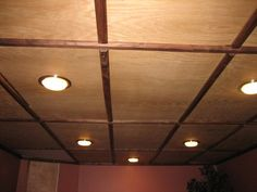 Another picture of a plywood ceiling that i like!