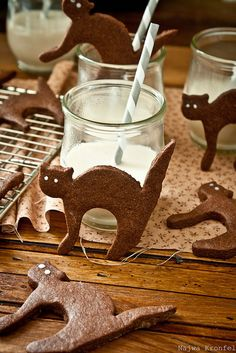 Chocolate cats, Halloween ideas