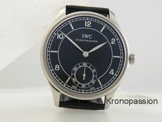 IWC Vintage Collection Portuguese Hand-wound Mens Watch IW544501 New ! #IWC #LuxuryDressStyles