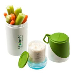 Healthy Food Snack Container with Removable Ice Pack  Price : $6.99 http://shop.fit-fresh.com/Healthy-Food-Snack-Container-Removable/dp/B00119NF06