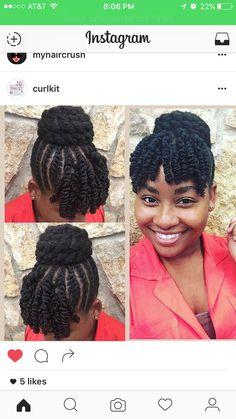 Coiffure Protectrice, Coiffures Protectrices, Type De Cheveu, Styles De  Cheveux Naturels, Collier