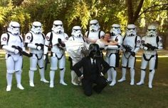 Star Wars Wedding http://www.toptableplanner.com/blog/star-wars-wedding-theme
