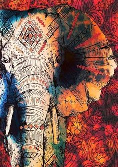Chief Elephant Tapestry