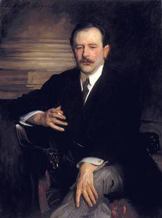 John Singer Sargent, Portrait of Robert Mathias circa 1913