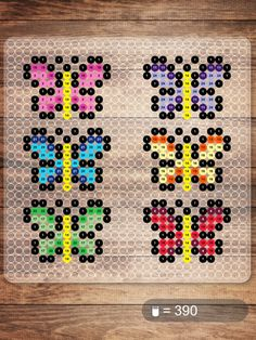 Butterflies NABBI beads pattern