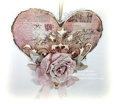 I want to keep this board on record so that I can go to it for ideas for Anna. 12-30-12 Heart Rose 1