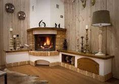 Resultado de imagen para caminetto a legna rustico