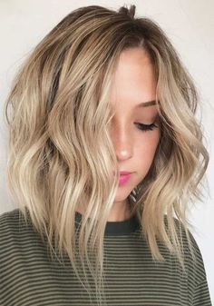 Terrific Lob Shaggy Hairstyles for Women to Get A New and Stunning Look