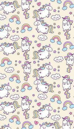 Chubby Unicorn Wallpaper!!!