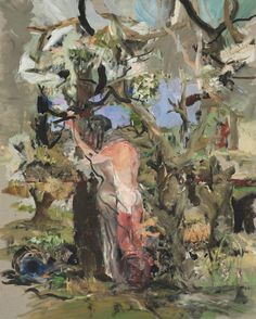 thunderstruck9: Cecily Brown (British, b. 1969), Way Beyond Compare, 2003. Oil on linen, 60 x 48 in.