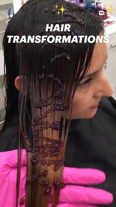 Lux Hair, Rapunzel Hair, Tips Belleza, Hair Transformation, Hair Hacks, Braided Hairstyles, Fashion Beauty, Hair Care, Hair Color