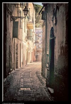 The alley by Giancarlo Gallo