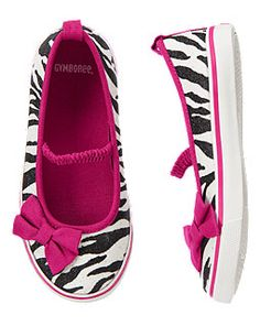 Glitter Zebra Sneakera from Gymboree (summer 2013)